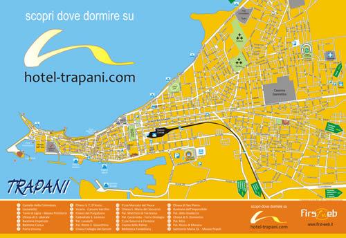 Mappa Trapani
