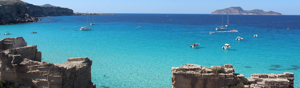 Holiday in Cala Rossa Favignana