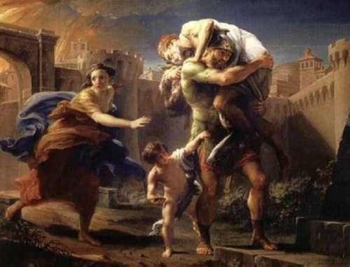 La fondazione di Trapani, tra mito e leggenda.