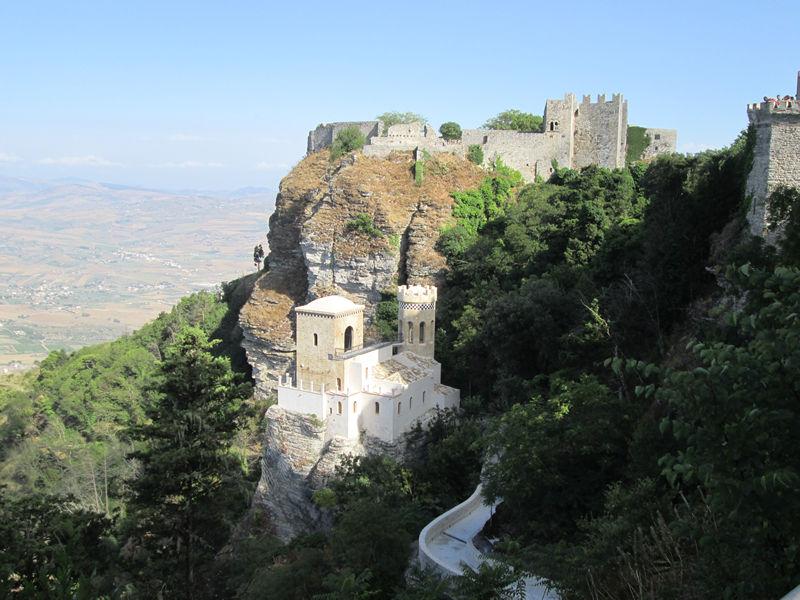 sistema dei castelli di Erice