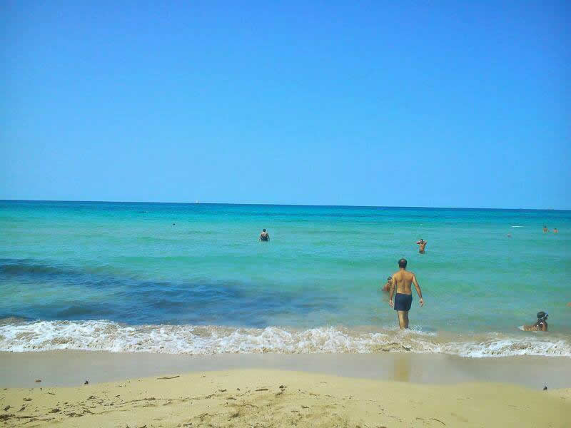Sea in Trapani