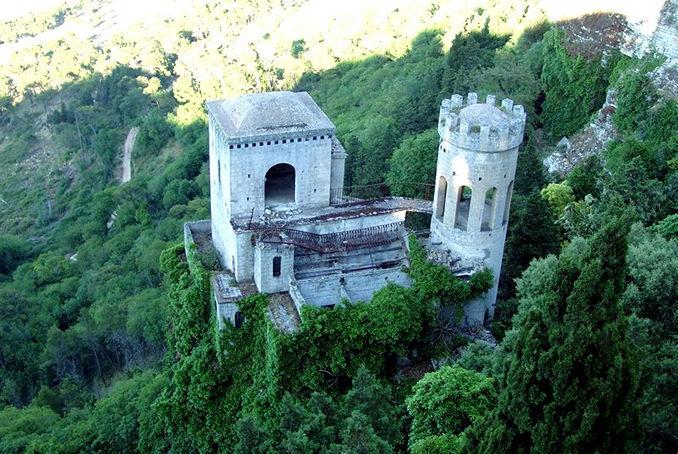 Foto Torretta Pepoli prima del restauro