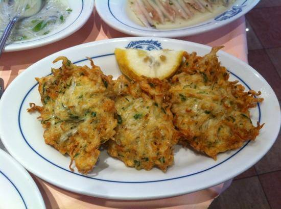 Fried fish fritter