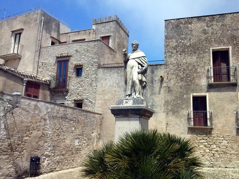Saint Albert statue