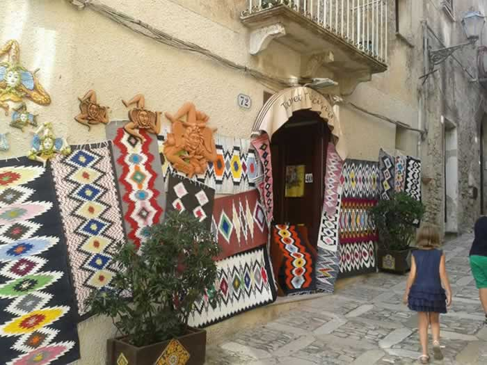 Handcraft shops in Erice