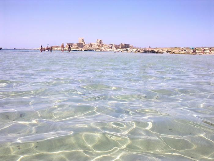 Trapani sea