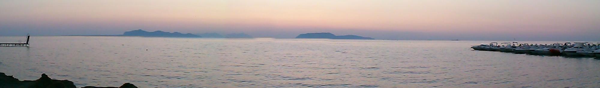 Sunset on Egadi Islands