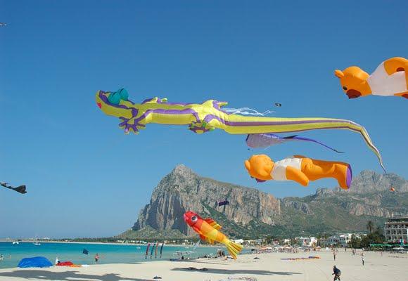 Kites in San Vito Lo Capo