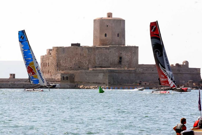 Colombaia tower in Trapani