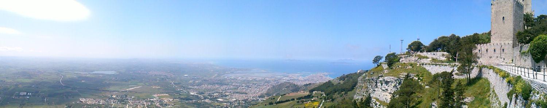 Panorama dal Castello di Venere