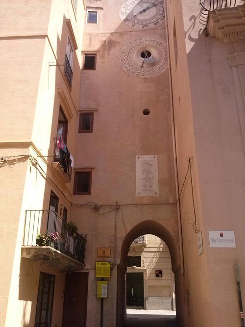 Porta Oscura e Torre dell´Orologio Trapani