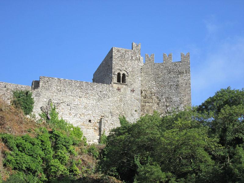 veduta del castello di Venere