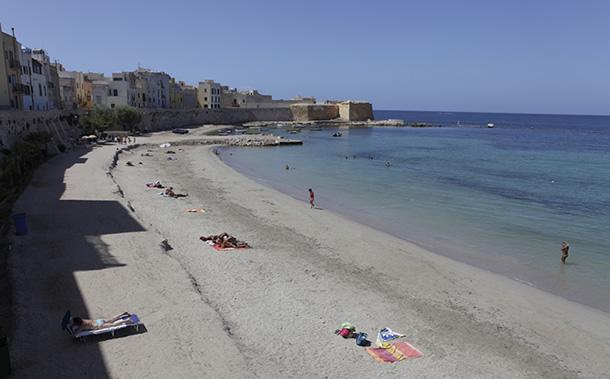 Trapani beach