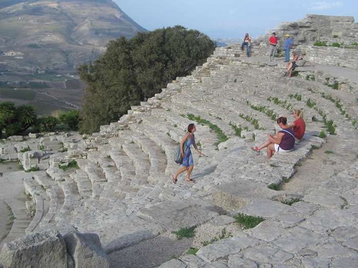 Greek theatre of Segesta
