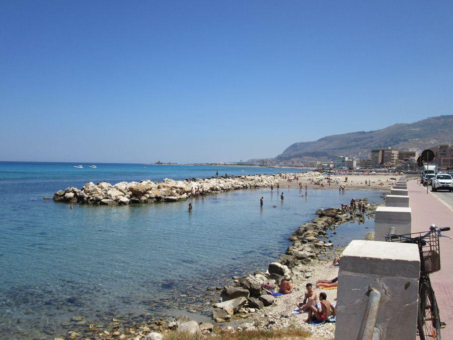 Spiaggia Piazza Vittorio Trapani