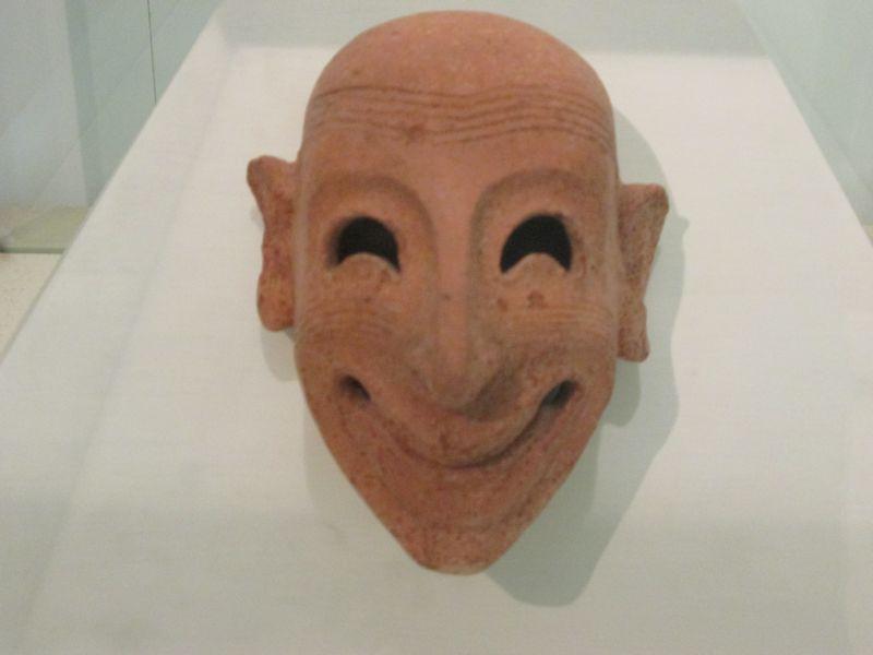 maschera ghignante di Mozia