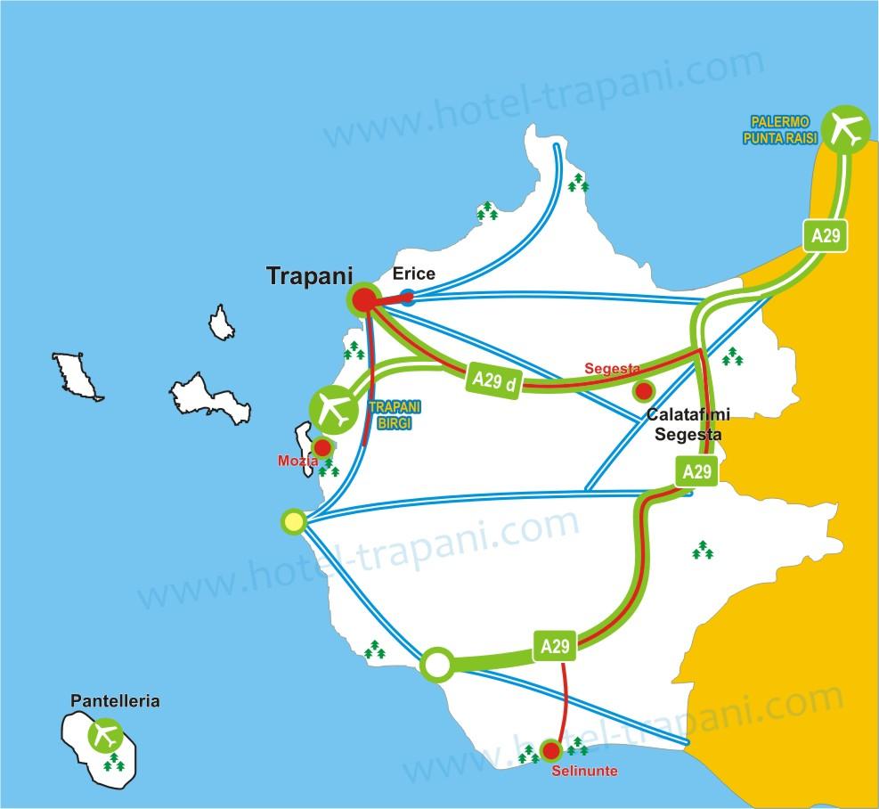 Itinerario archeologico Trapani