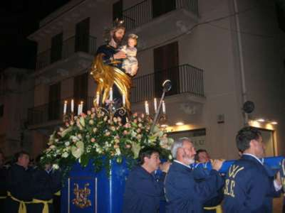 April 22 is celebrated in Alcamo St. Joseph the Worker