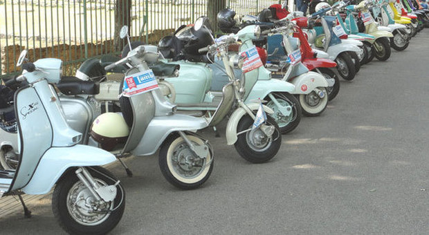 26th Lambretta national meeting in Trapani