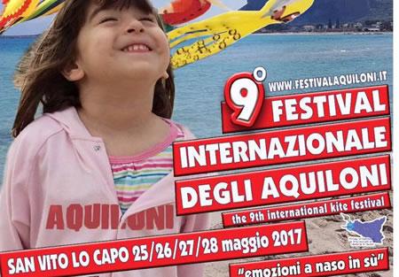 9° Festival degli Aquiloni 2017 a San Vito lo Capo