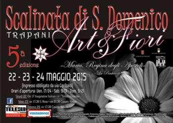Art & flowers in Trapani