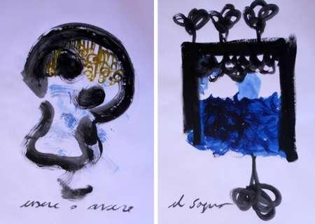 Alfa e Omega: Pittura scrittura pittura