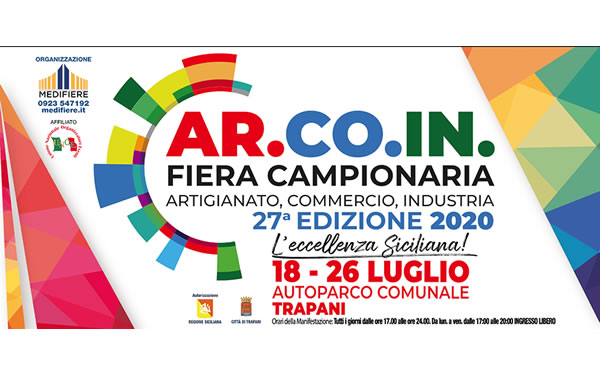 2020 edition of Ar.Co.In. in Trapani