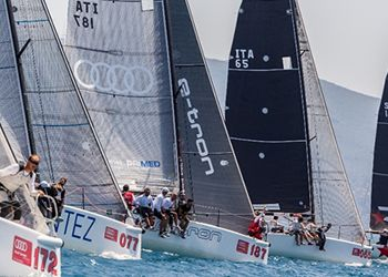 Audi tron Sailing Series 2015 in Trapani