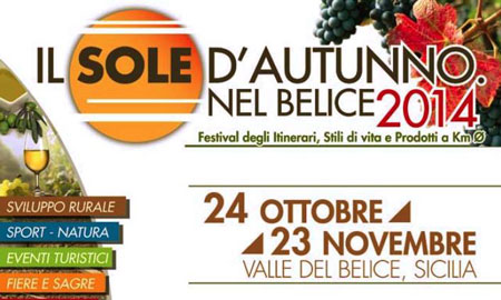 Belice, second edition of  Il Sole d'Autunno