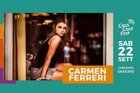 Carmen Ferreri in San Vito lo Capo