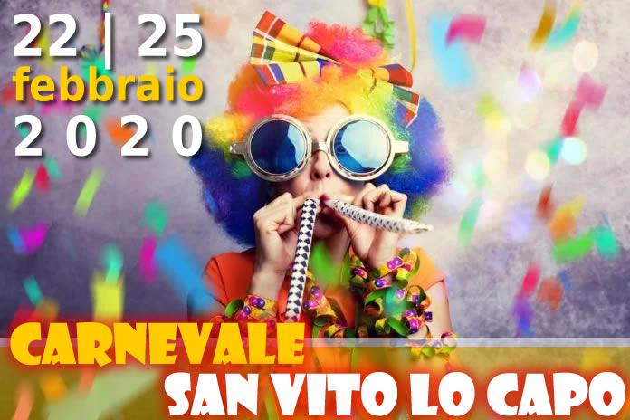 Carnevale 2020 a San Vito lo Capo