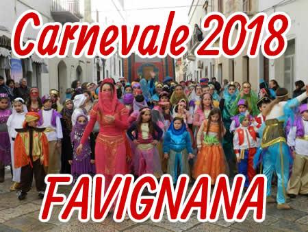 2018 Carnival in Favignana