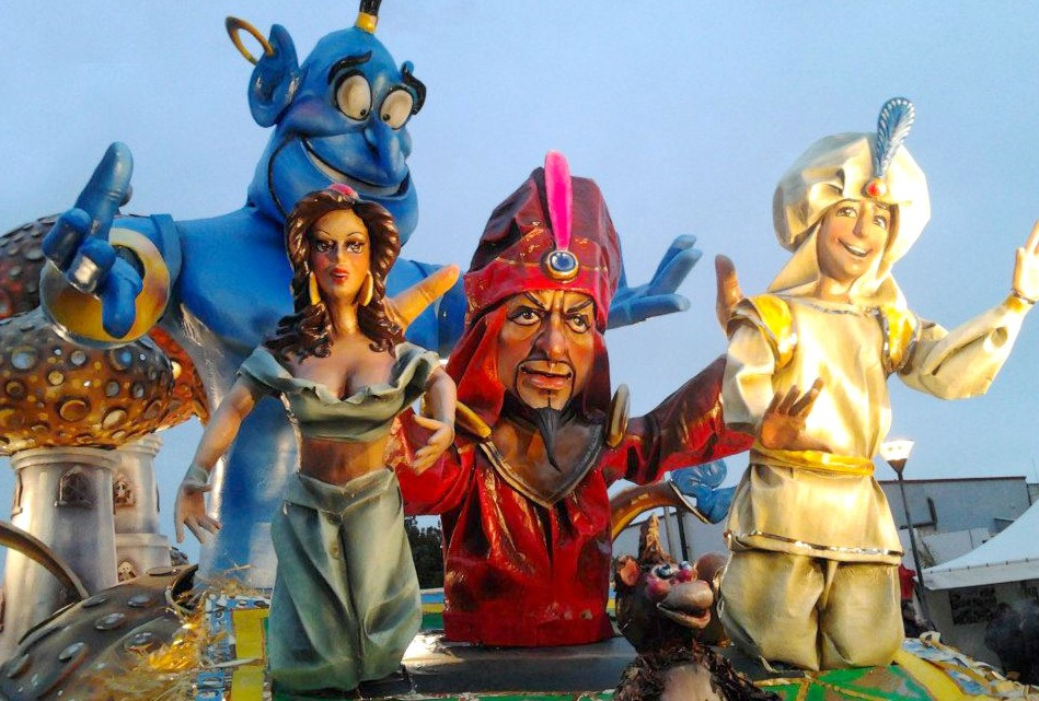 Carnival of Petrosino from 14 to 17 february