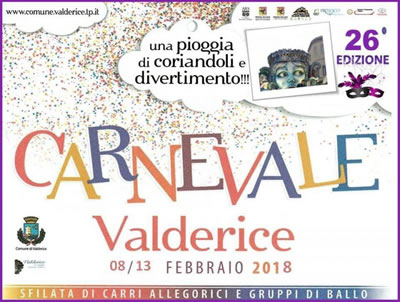 Carnival in Valderice - 2018 edition