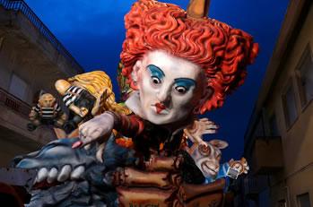 2015 Carnival in Valderice.
