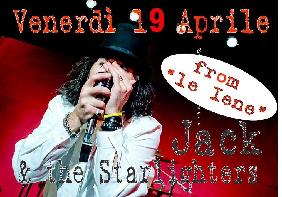 Castelvetrano a ritmo di rock, Jack e The Starlighters si esibiscono il 19 Aprile alle 22