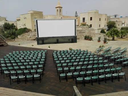 Cinema sotto le stelle a Favignana