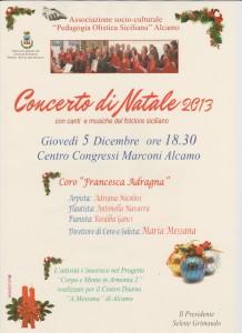 Concerto di Natale ad Alcamo