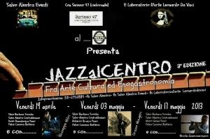 Dal 19 aprile, tre eventi impreziositi da stelle siciliane del jazz. Al Molino Excelsior