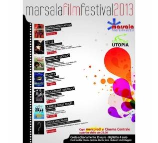 Dal 20 marzo all' 8 maggio MARSALA FILM FESTIVAL