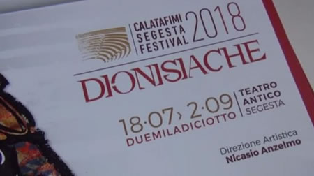 Dionysiac 2018 at the theater of Segesta