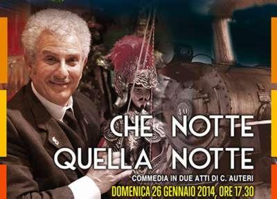 Enrico Guarneri in Marsala theatre