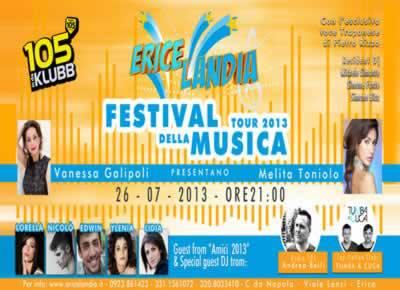 Ericelandia presenta il Festival della Musica 2013