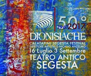 Festival Dionisiache 2017 a Segesta