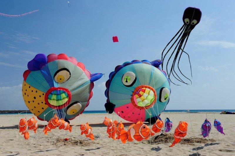2016 kite festival in San Vito lo Capo