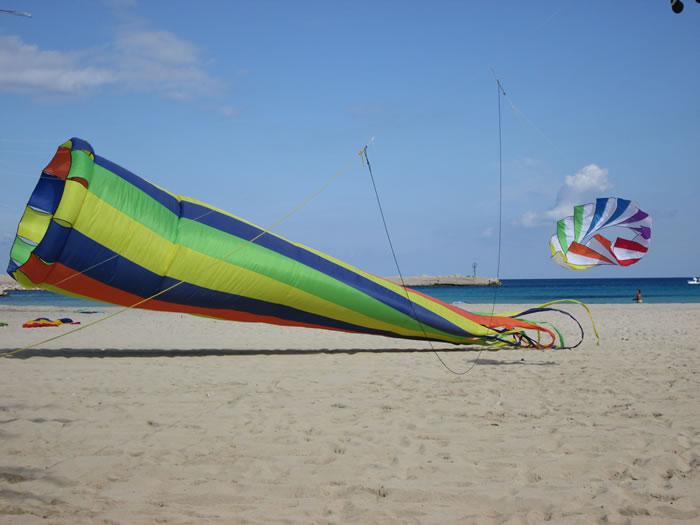 2018 kite festival in San Vito lo Capo