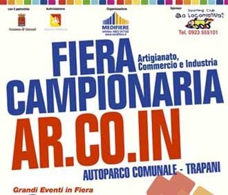 Fiera Arcoin 2016 a Trapani