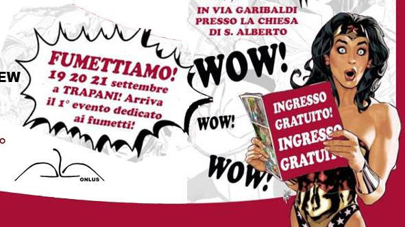 Fumettiamo in Trapani, from 19 to 21 of september
