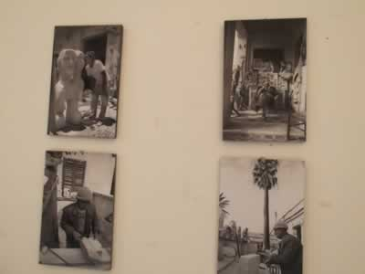 Exhibition of Giovanna Guccione in Favignana