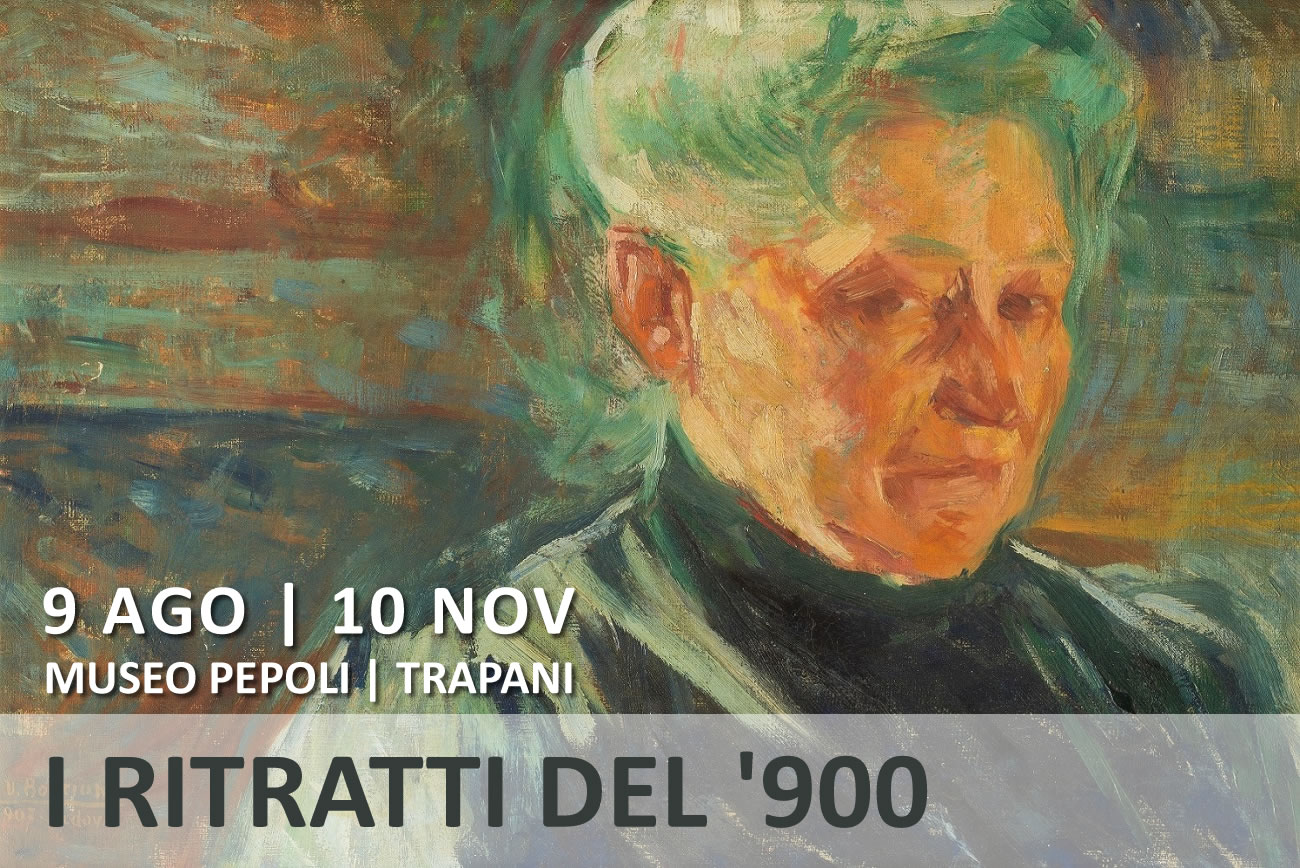 Twentieth-century portraits in Trapani